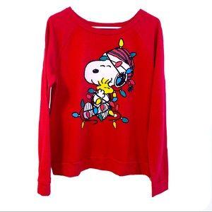 Peanuts Sweatshirt Holiday